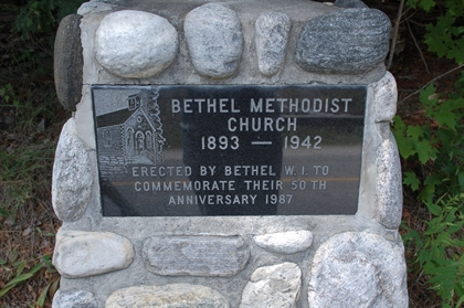 Bethel Methodist Church Monument photo