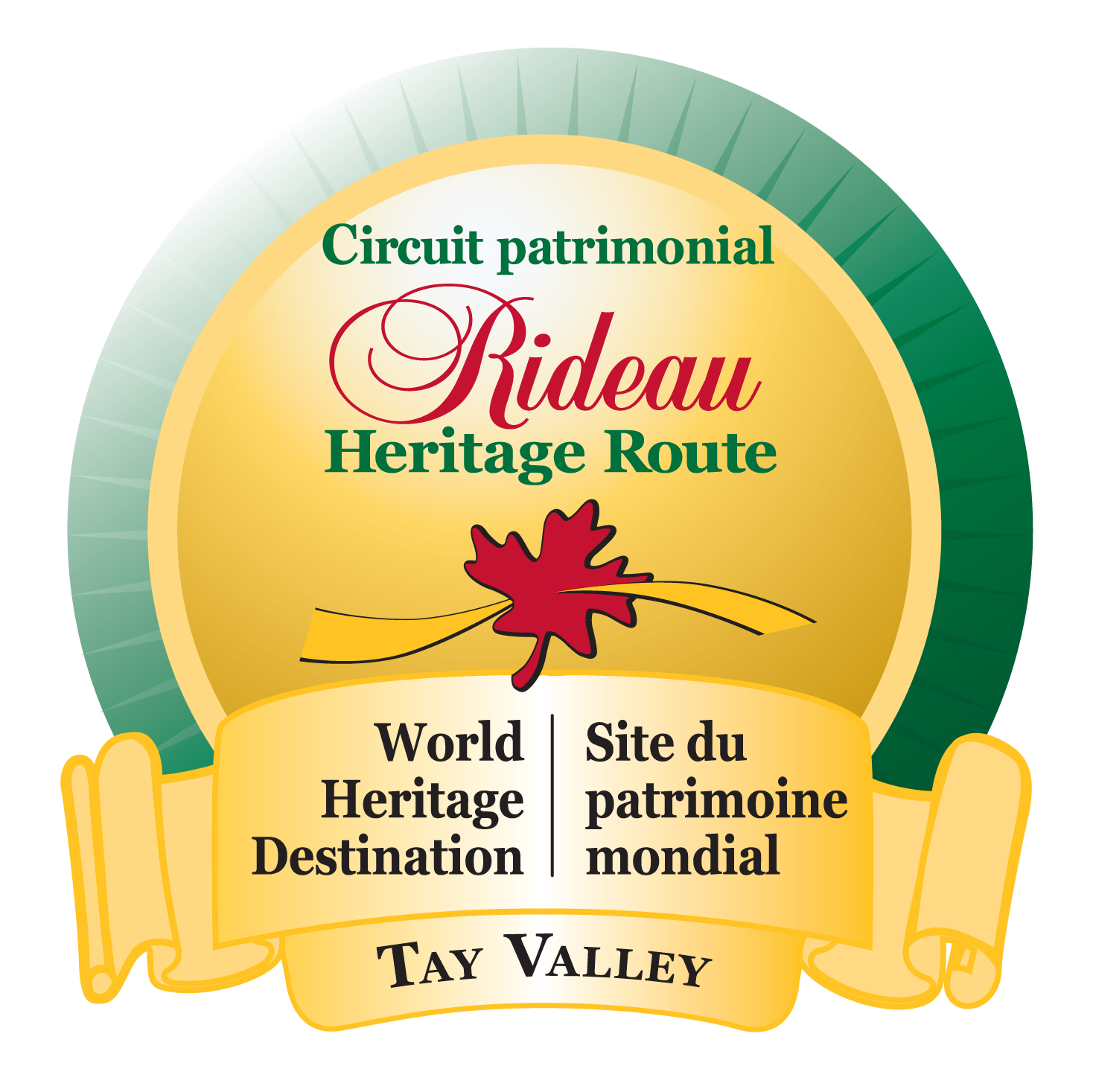 Rideau Heritage Route Tourism Association logo